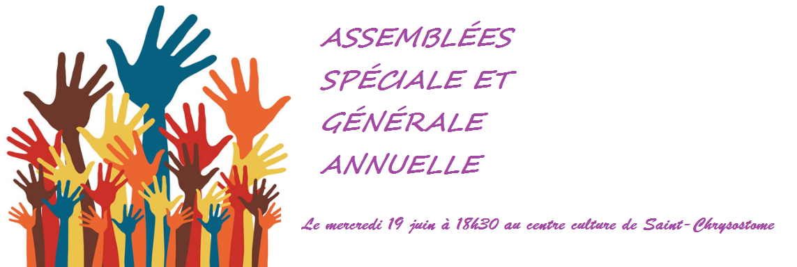ASSEMBLÉES SPÉCIALE ET GÉNÉRALE ANNUELLE D'AMBIOTERRA